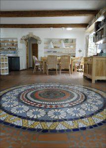 mozaika venkovsky dum 14