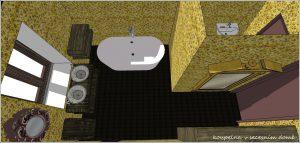 interier koupelna 1