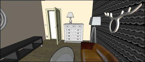 Obývák pro mladý pár 1