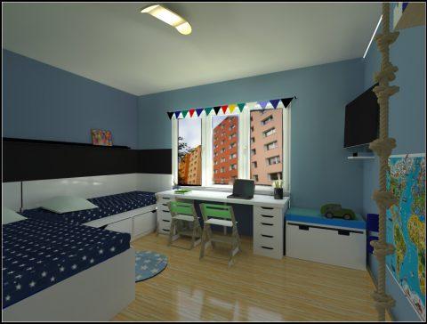 interier detsky pokoj 3