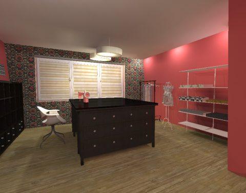 interier krejčovský salon 1
