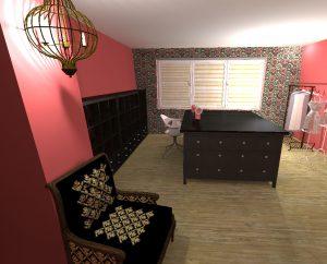 interier krejčovský salon 2