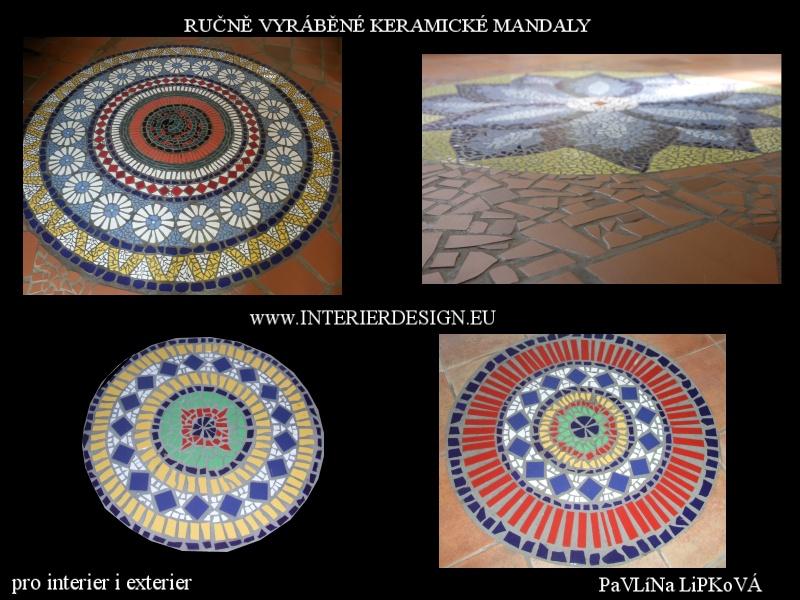 手工製造的陶瓷曼陀羅