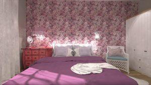 divci pokoj postel