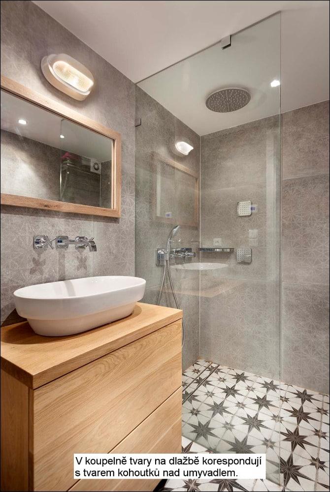 koupelna loft byt brno